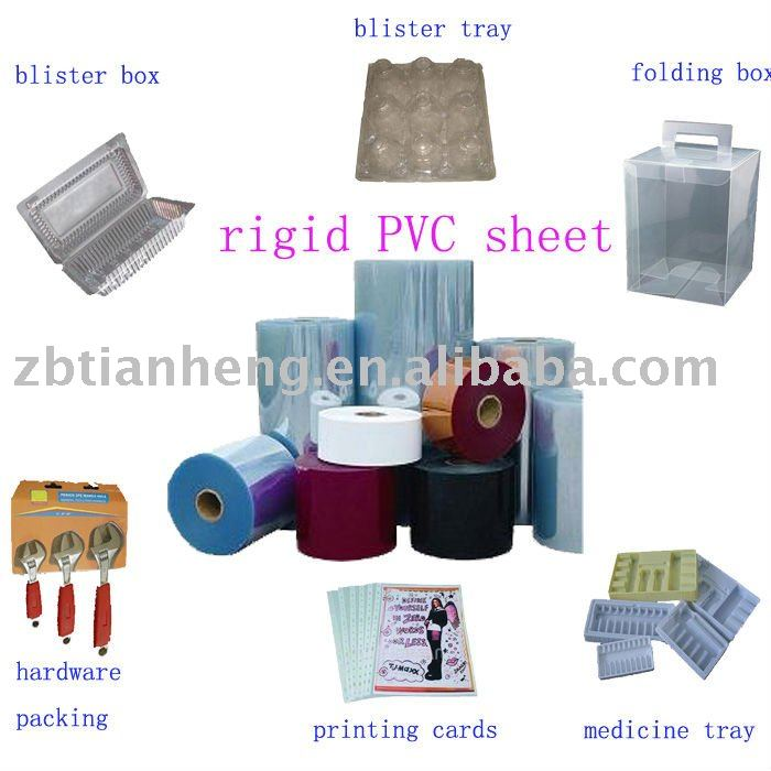 PVC folding box sheet, PVC folding sheet, PVC sheet for folding box