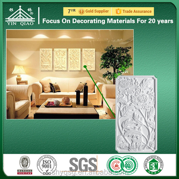 Classic Grg 3d Gypsum Wall Panel & Decorative 3d Wall Panels For ...