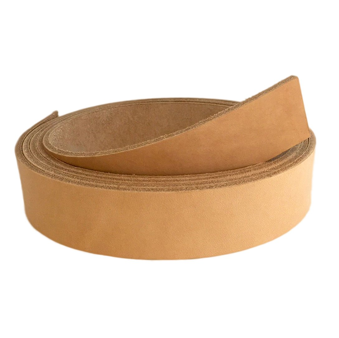 "Springfield Leather Company 84"" Vegetable Tan Cowhide Leather Strip (1-1/2"")"