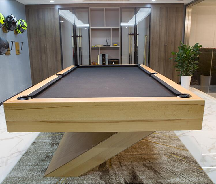 Modern Design Wood Grain Pool Table