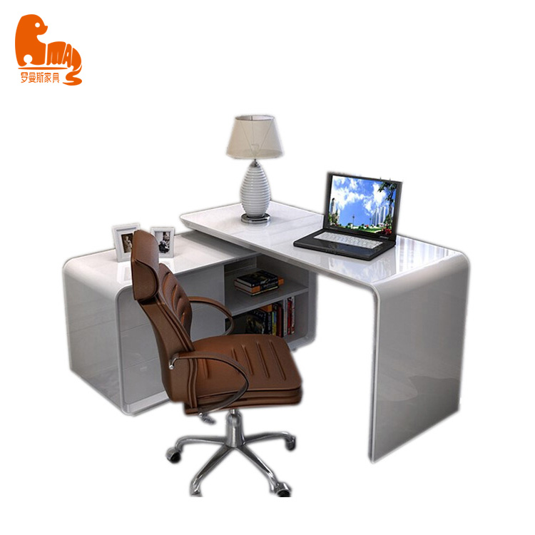office table executive ceo boss desk wooden computer table design