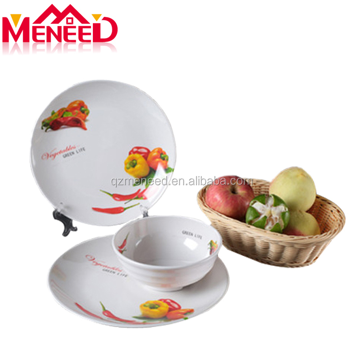 China factory cheap price Asian and South American characteristics tableware dinner set