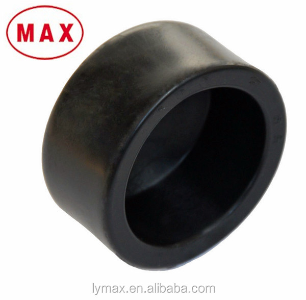 End Cap Fitting Black Round Plastic End Cap For Hdpe Pipe