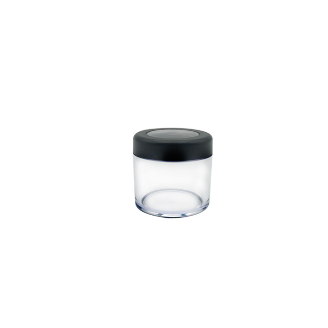 High quality empty 10g clear cosmetic loose powder case for cosmetic packaging