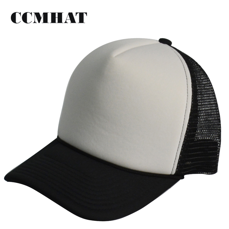 Hot Style Foam Front And Mesh Back Blank Trucker Cap Made In BSCI Audit Factory