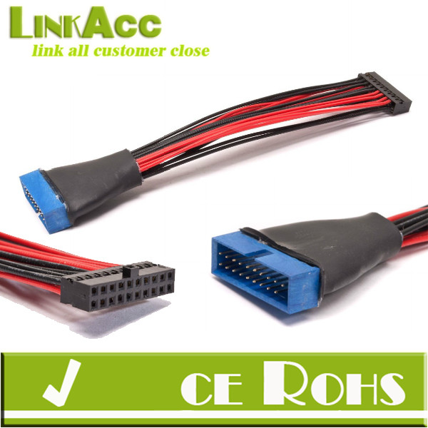 Low Profile USB 3.0 Header Extender Cable