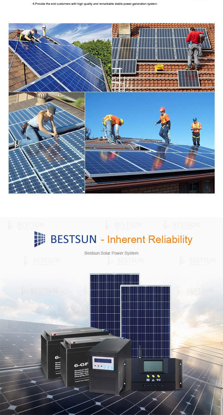 Best Sun Solar Stand Alone Home Solar Systems Solar Panel