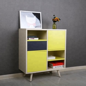 Scandinavian Furniture Chest Of Drawers Metal Multi Color Storage Unit Cupboard Design