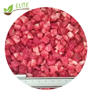 2019 New Crop IQF Diced Strawberries Frozen Strawberry Dice with Lowest Price