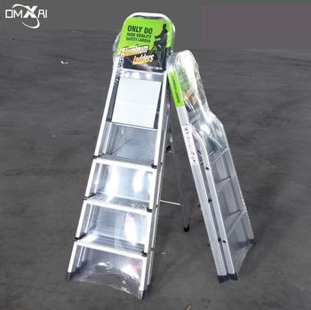 Household Aluminum Folding Lidl Ladder 3 4 5 6 7 8 9 Step With Handrail Handle Aldi Ladder Aluminium Buy Lidl Ladder Aldi Ladder Ladder With