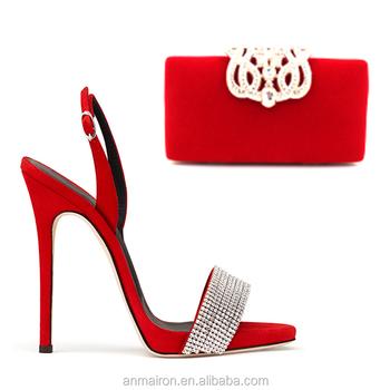 2c2d6915bf0d01 sexy women ladies bridal party wear rhinestone large big size high heel  sandals