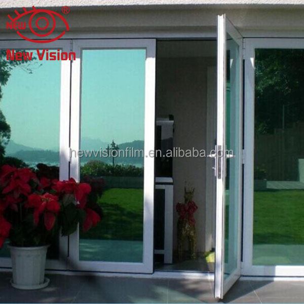 Super quality UV resistant tinted decorative construction glass film removable scratch protection architecture window film