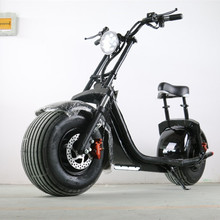 E-Drift citycoco Electric Fat Tire Scooter Moped with Shocks 1500w Hub Motor 27MPH IHarley E-Bike