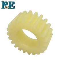 Customized machining services small plastic pinion helical gear