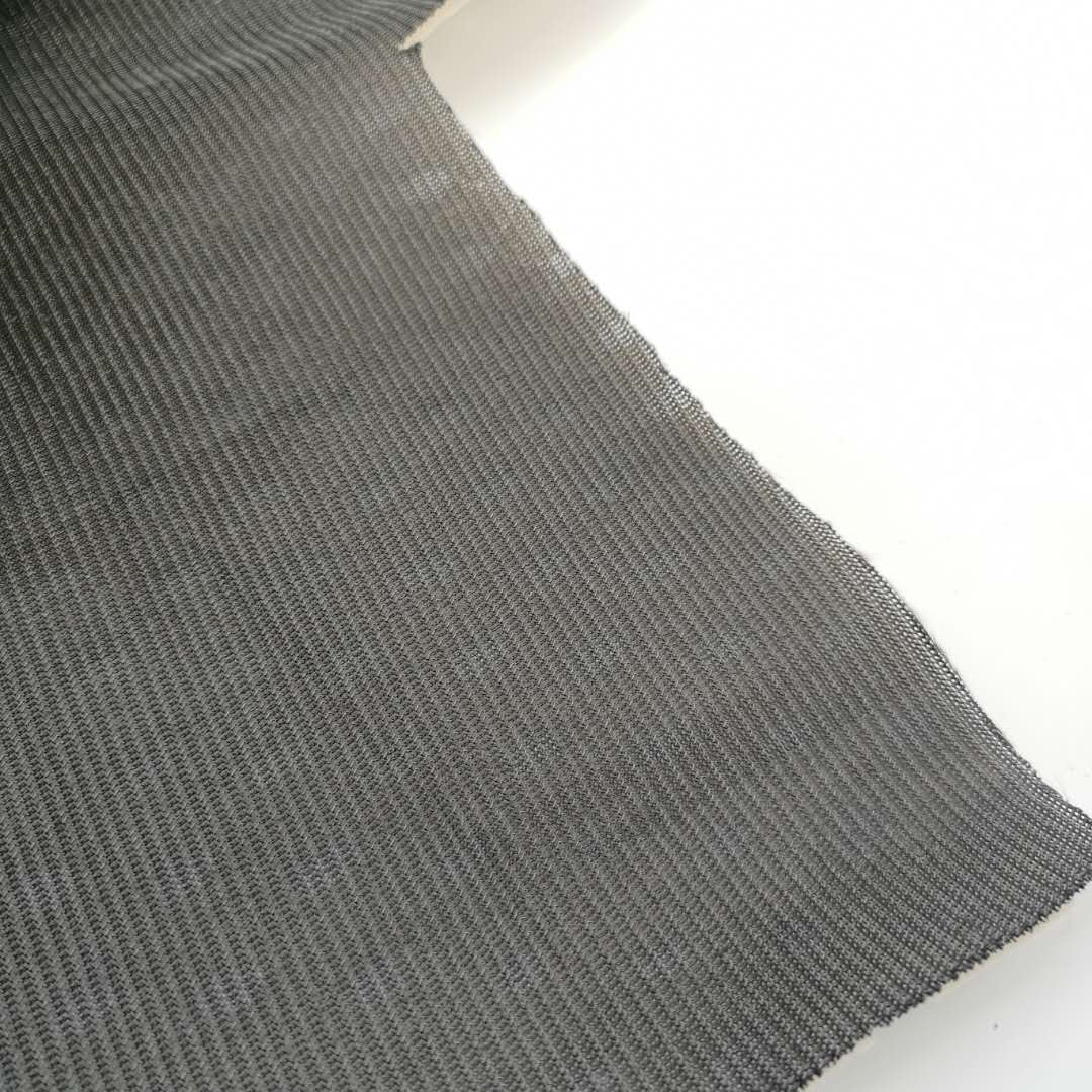 4D air mesh black and white,car seat fabric,100% pollyester woven fabric
