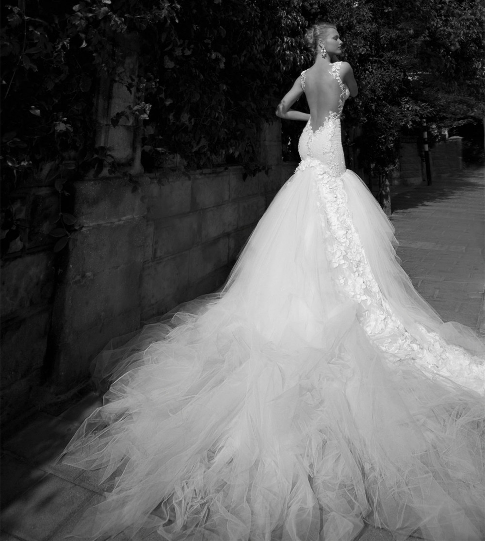 Real Perfect Monarch Mermaid Bridal Gowns Sweetheart Lace