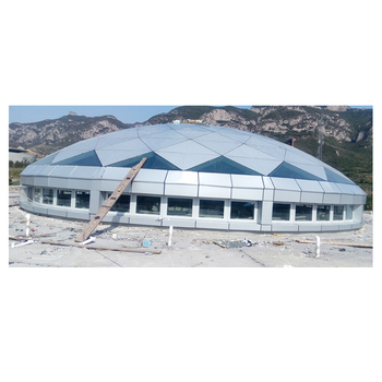 factory supply steel structure dome