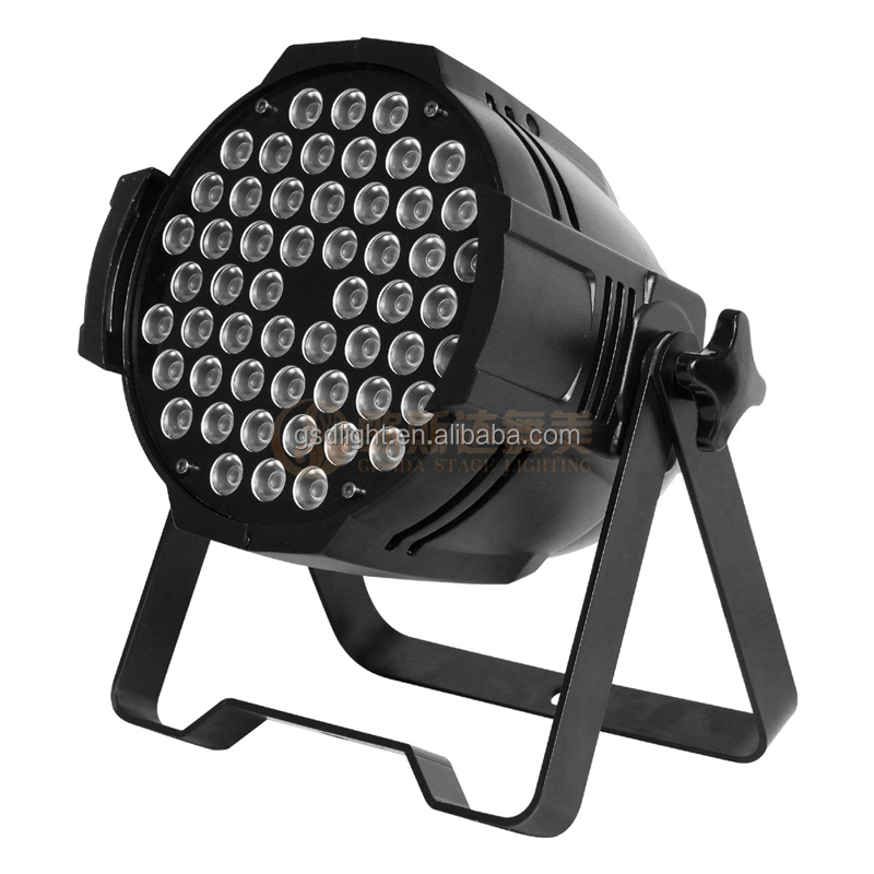 Promotion RGB / RGBW led 54 3w par light for club/dj/karaoke/wedding/party