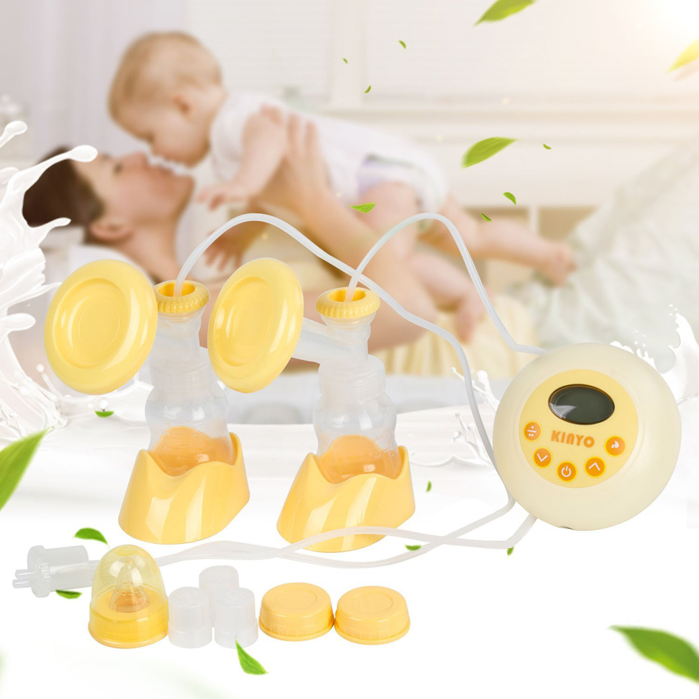 oem high-end baby product breast milk pump with bag