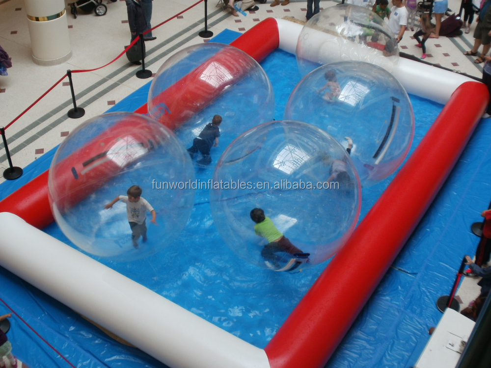 2015 high quality big and funny deep inflatable pool for Large swimming pools for sale