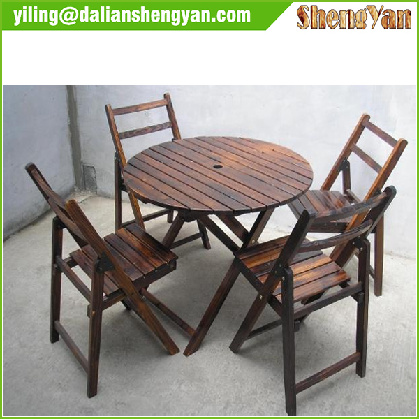 Modern Cheap Outdoor Garden Wooden Furniture For Table