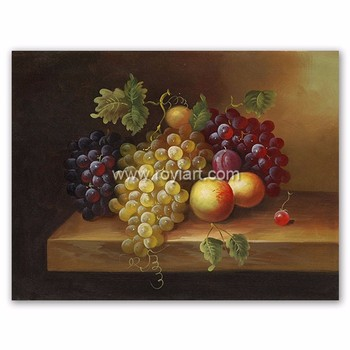 Still Life Kitchen Dinning Fruit Wall Art Oil Painting For Home Decor Buy Oil Painting Canvas Fruit Oil Paintings Kitchen Art Oil Painting Product