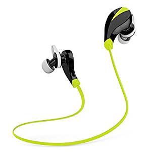 Beyda NEW Bluetooth headsets Bluetooth Headphones.mini-flyweight sweatband wireless headset sports headphones,MIC, noise reduction, exercise, running, exercise, iPhone,iPad, Android phones(Yellow-1)