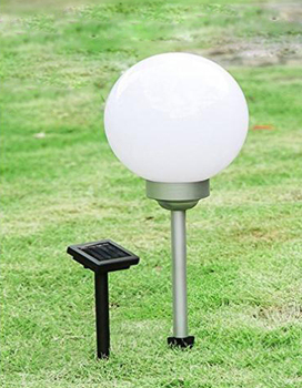 Solar Ed Garden Ball Lights Multi Color Waterproof Led Globe For Outdoor Yard Patio Light