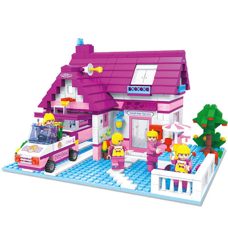 Rest Stop Building blocks Compatible with LEGO Friends House bricks ...