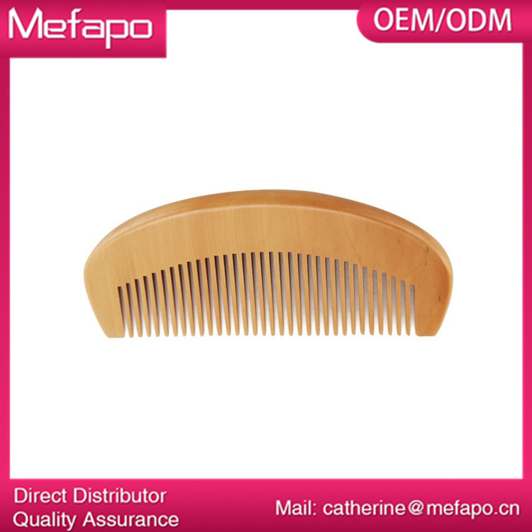 Customized Beard Comb Wood OEM / ODM