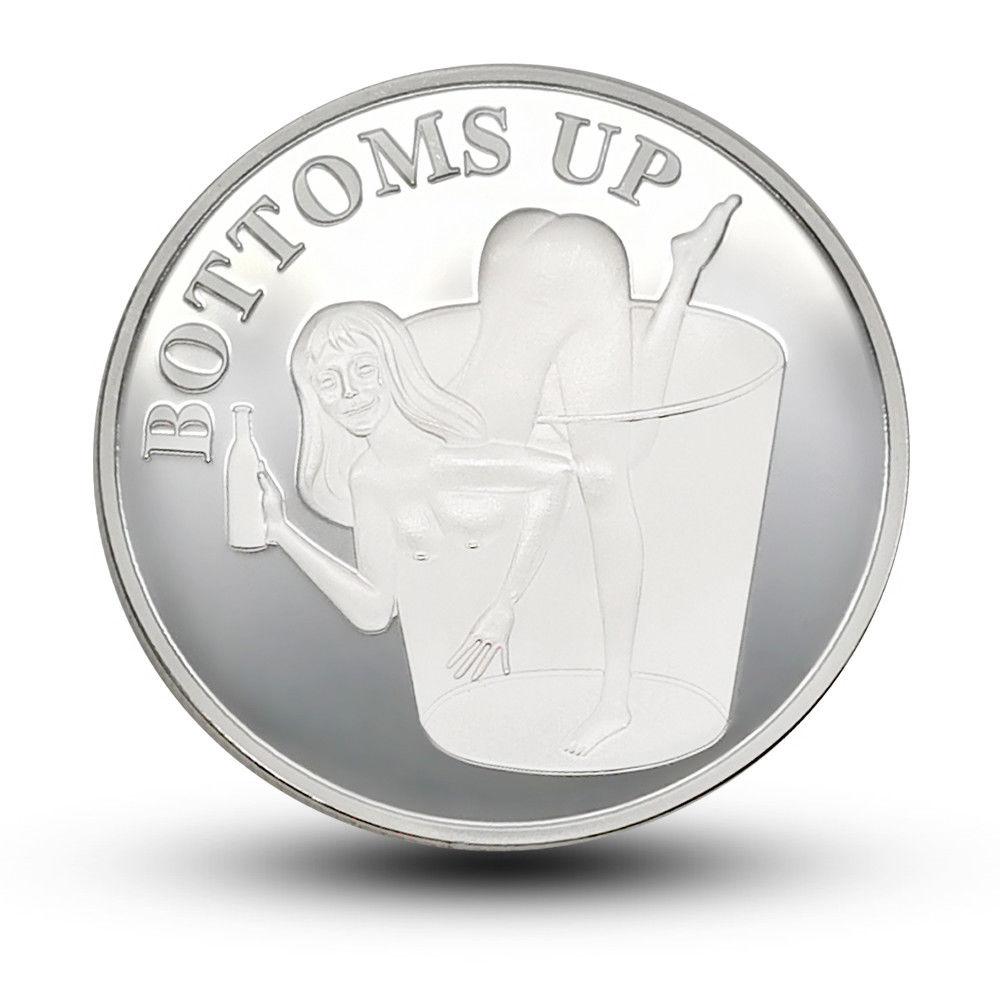 Novelty adult coins