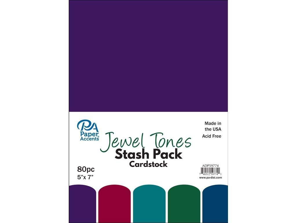 1//8-Inch Quilled Creations Jewel Tones Quilling Paper Amethyst 50 Per Package