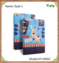 Kids Tablet Cover For ipad mini Cute Snot Dog Slim Folio Leather Flip Stand Case