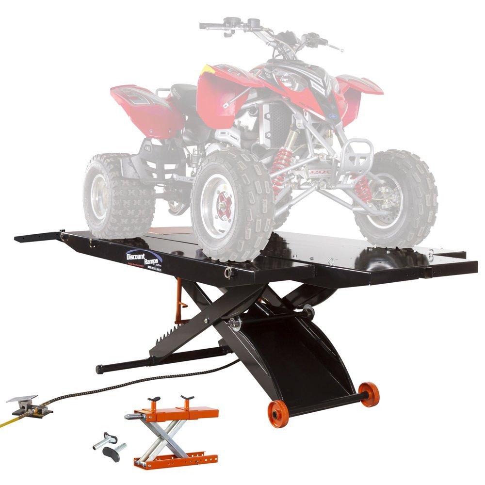 Black Widow ProLift ATV Lift Table with 4-Wheeler Center Jack