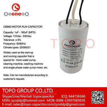 3 wires fan motor capacitor