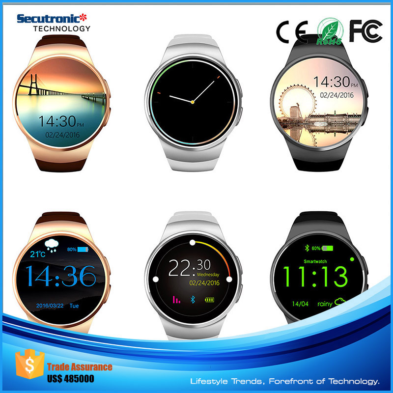 Online Shop China 2016 3G Smartwatch with Camera Wifi Amoled Smartwatch Kw88