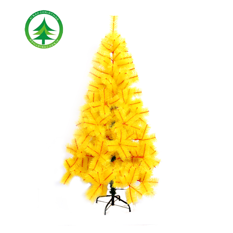 180cm Yellow Artificial Pine Christmas Tree Hot Sale