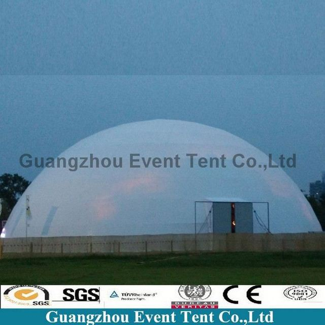 Outdoor large steel frame luxury safari dome tents for product promotion celebration & large dome tent restaurant-Source quality large dome tent ...