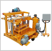 QTF40-3A cheap price small scale industries hollow bricks block making machine