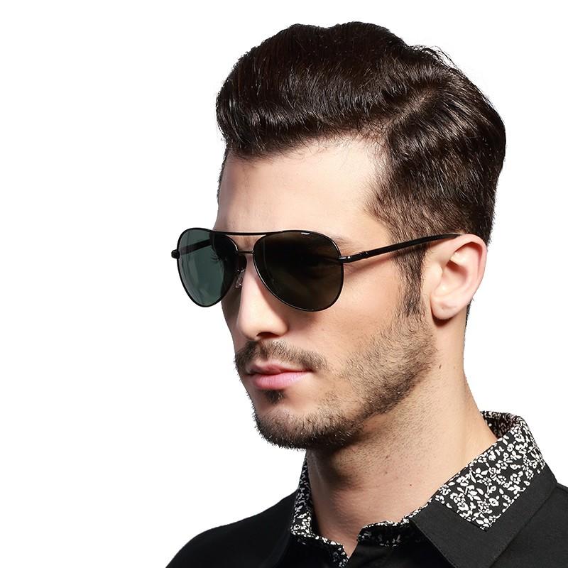 Lunettes de soleil polarisées pour hommes, verres de styliste, nouvelle collection 2020