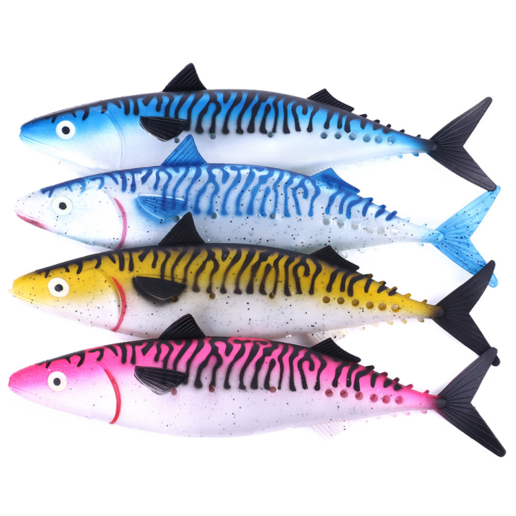 Takedo So302 Spanish Mackerel Deep Sea Big Bait Ripper Soft Lure 35cm 115g Tunas Grouper Long Casting Fishing Lure Buy Soft Plastic Fishing Lures Deep Diving Lure Soft Plastic Fishing Lures Fishy