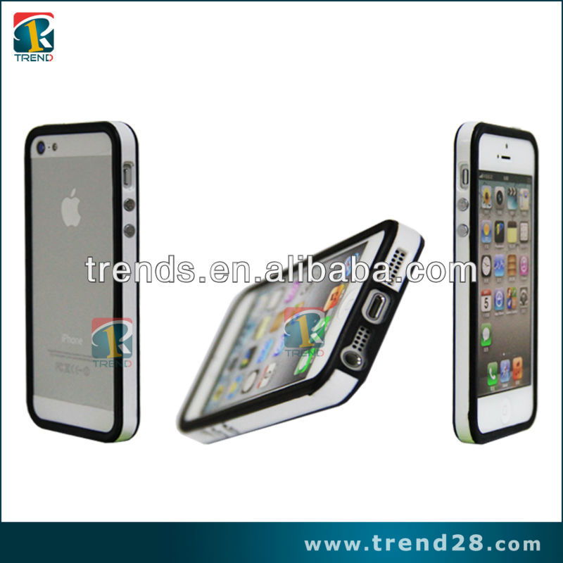 new pc+tpu bumper cases for iphone5