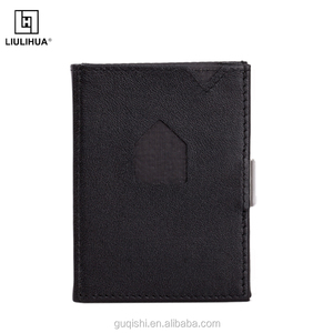 Special Design business credit card holder men's short wallet Unisex Gender RFID Blocking card holder wallet