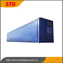 New 40ft aluminum structure curtain side shipping container