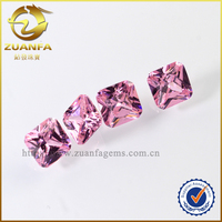 exports to africa square shape cvd diamond Wuzhou Zuanfa pink diamond