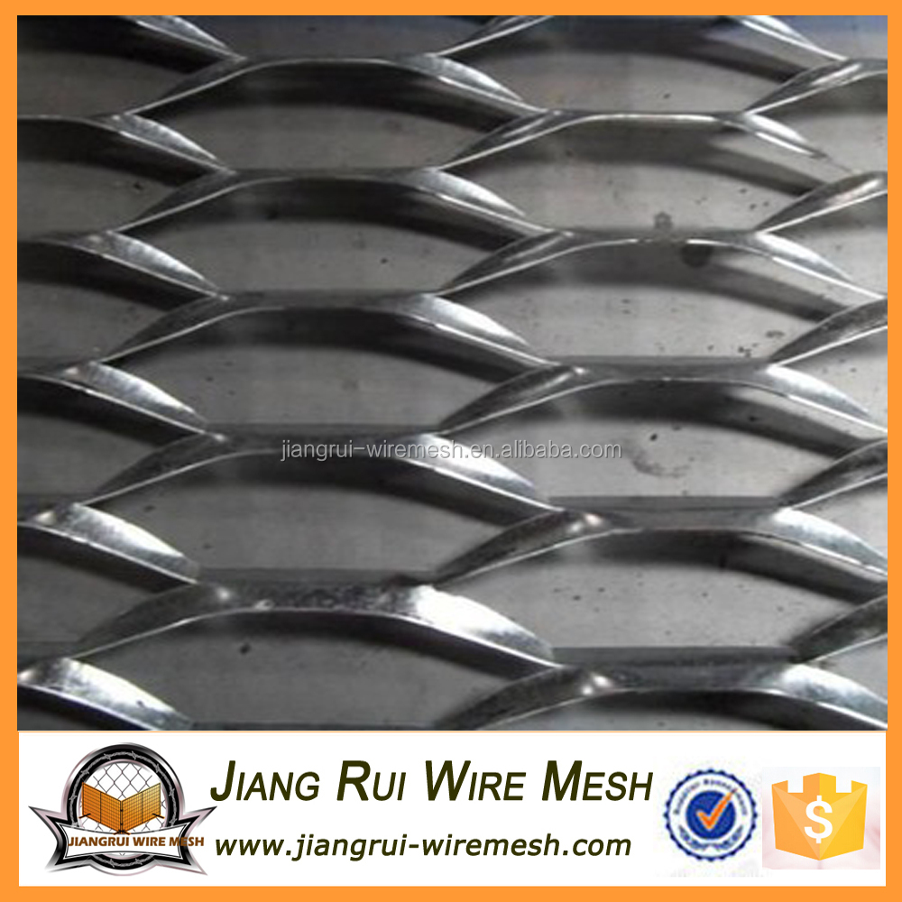 High quality alum inum expanded metal mesh