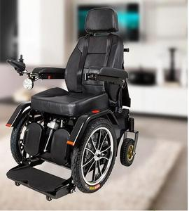 Handicapped standing up 4 wheel drive electric wheelchair