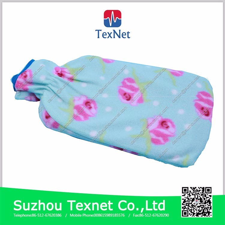 China Medical consumables 2000ml rubber hot water bag