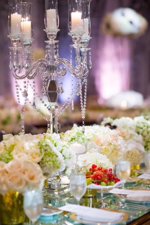 Tall crystal flower stand for wedding centerpiece buy