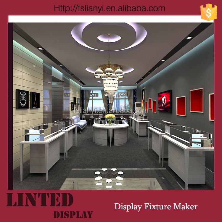 Jewellery Showroom Designs Free Standing Jewellery Display Stand